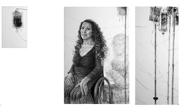 Riva Lehrer's portrait of Nadina LaSpina